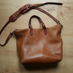 Madewell Transport zip up tote
